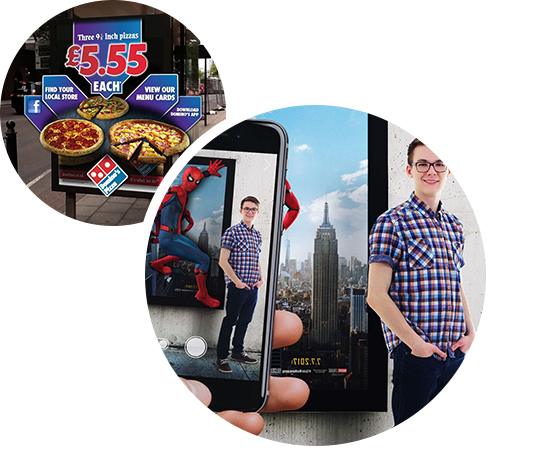 AR advertising applications