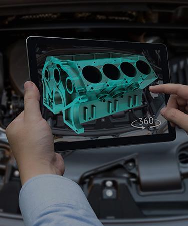 Interactive 3D User Manuals and Product Configurators