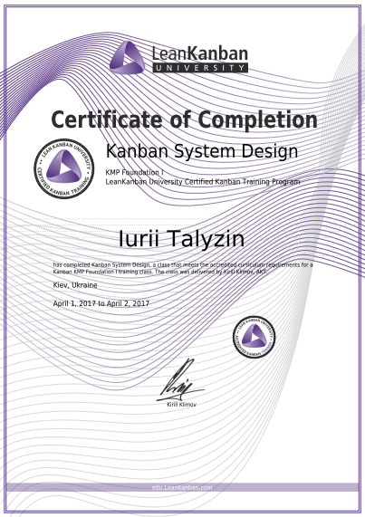 Program-Ace Managers Acquire Scrum and Kanban Certification ...