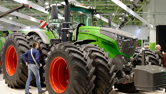Acriculture software development at Agritechnica