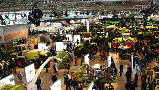 Pgrogram-Ace at Agritechnica