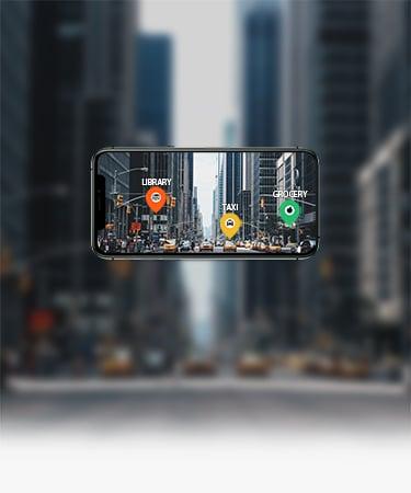 Augmented reality app development