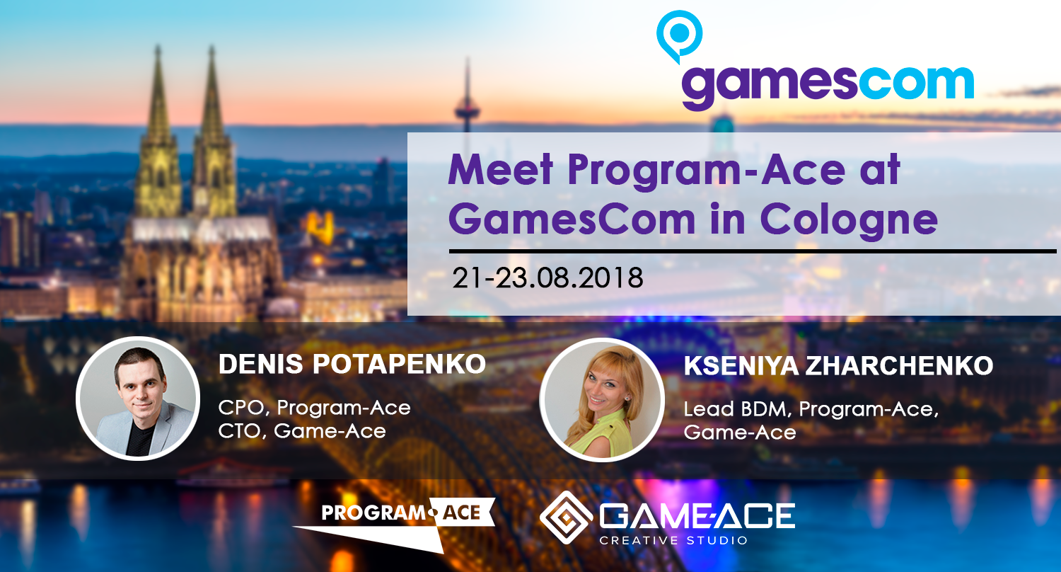 Program-Ace at GamesCom 2018