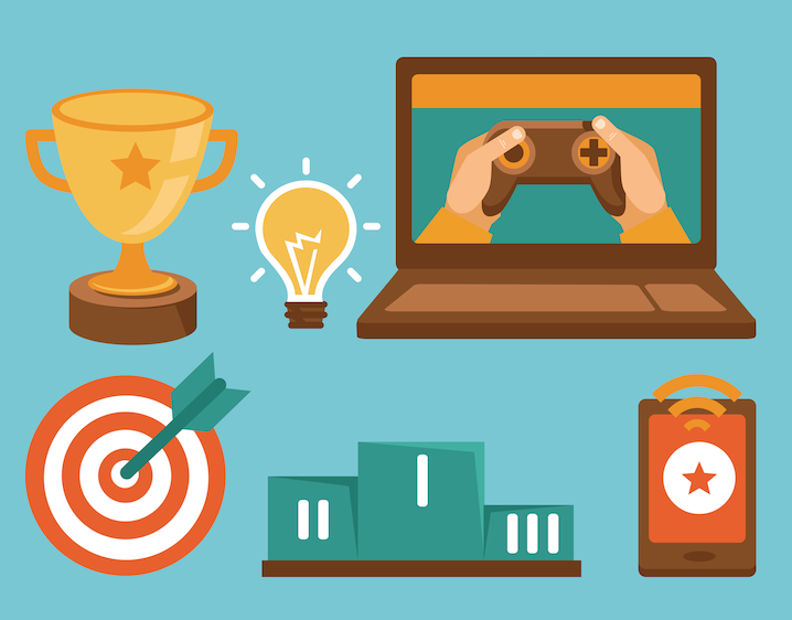 Gamification elements in education
