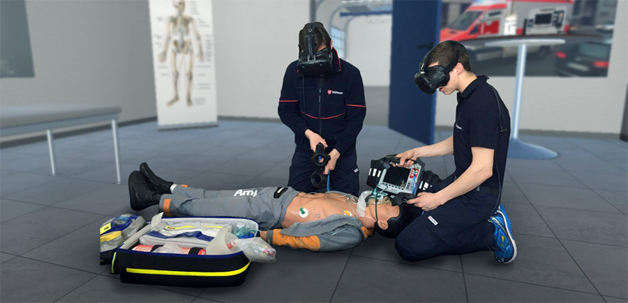 VR healthcare training