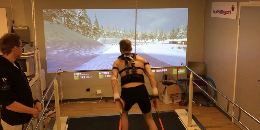 VR training for athletes