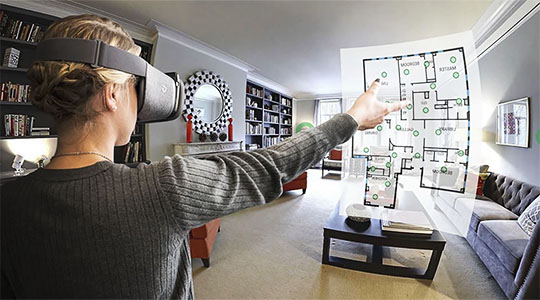 Virtual reality for real estate