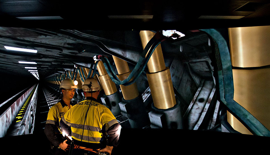virtual reality training in mining
