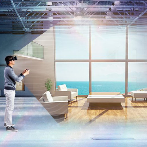 VR exhibition for real estate customers