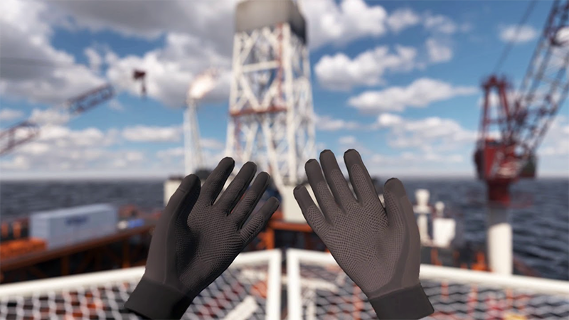 features of VR oil platforms